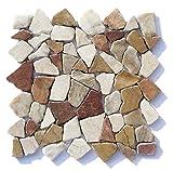 M-005 Marmor Onyx mediterran Naturstein Bad - Fliesen Lager Verkauf Stein-mosaik Herne NRW