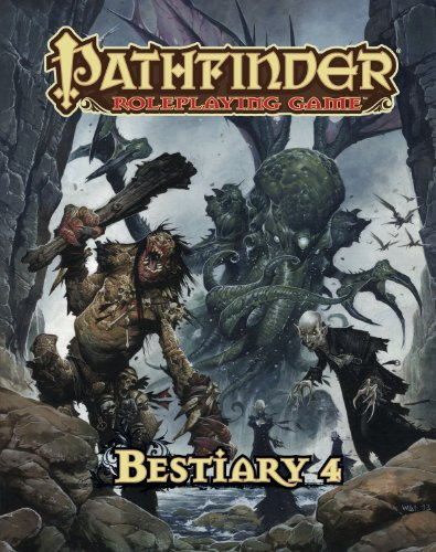 Pathfinder Roleplaying Game: Bestiary 4 (Roleplaying Pathfinder Game)