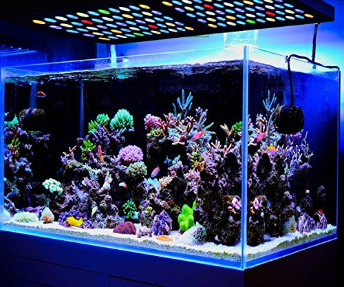 marsaqua 165w dimmable led aquarium beleuchtung f r fisch riff korallen und lps sps meerwasser. Black Bedroom Furniture Sets. Home Design Ideas