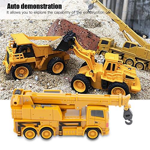 RC Auto kaufen Baufahrzeug Bild 5: Fernbedienung Bagger LKW Bagger Spielzeug RC Kran Mini Baufahrzeug Kinder Geschenk(Kran)*