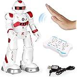 EARSOON Robot Inteligente con Control Remoto RC, detección de Gestos, programación Inteligente, Robot para Caminar con música