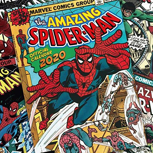 Spiderman 2020 Calendar - Official Square Wall Format Calendar par Spiderman
