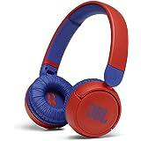 JBL Jr 310BT - Overear hoofdtelefoon voor kinderen met Bluetooth en ingebouwde microfoon, in rood