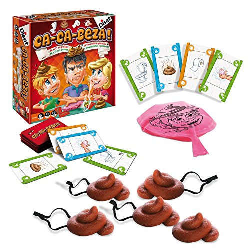 Foto de Diset - Ca-ca-beza, juego de mesa (60181)