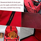Hund Katze Puppy Pet Auto Sitzerhöhung Travel Tasche Käfig Decke Wasserdicht Atmungsaktiv Pet Auto Sicherheitsgurt Bezug Booster Tasche Matte PET Reisen Auto Kissen - 4