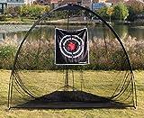 Best Golf Practice Nets - Galileo 8'x7'x7' golf Hitting Net/golf net/Tri-poled shape golf Review