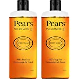 Pears Pure & Gentle Shower Gel With 98% Pure Glycerine, 100% Soap Free And No Parabens, 250 ml (Pack of 2)