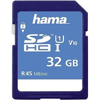 Hama 114943 - Tarjeta de memoria SecureDigital de 32 GB ...