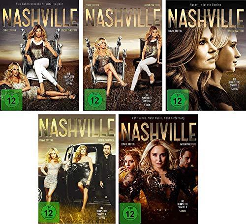 Nashville - Staffel 1-5 im Set - Deutsche Originalware [25 DVDs]