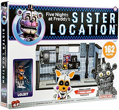 Mcfarlane - Five Nights At Freddy`s Construction Set - Private Room