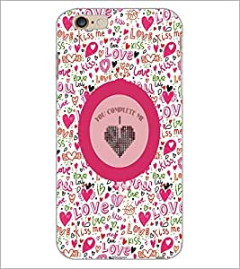 PrintDhaba Quote D-4167 Back Case Cover for APPLE IPHONE 6 PLUS (Multi-Coloured)