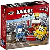 LEGO - 10732 - Juniors - Jeu de Construction - L'arrêt au stand de Guido et Luigi