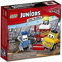 LEGO 10732 - Juniors, Il Pit Stop di Guido e Luigi