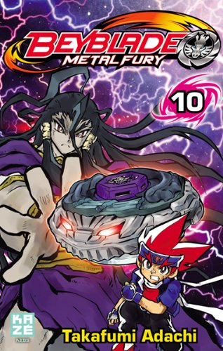 Beyblade Metal Fusion / Masters / Fury Edition simple Tome 10