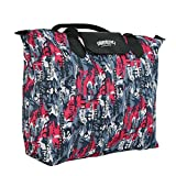 #8: Kuber Industries Waterproof Foldable Shopping Handbag, Travel Bag (Color & Print may vary as per availability)