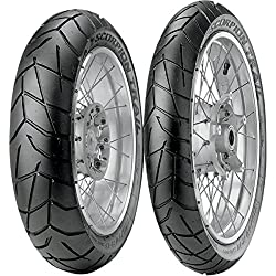 Pirelli Scorpion Trail Tire - Rear - 150/70R-18 , Position: Rear, Rim Size: 18, Tire Application: Touring, Tire Size: 150/70-18, Tire Type: Dual Sport, Load Rating: 70, Speed Rating: V 2031600