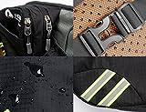 [Sport Hüfttasche] SHOWTIMEZ Hüfttasche Multi-Function Gürteltasche Wasserabweisende Bauchtasche Flache Taille Tasche mit Flaschenhalter zum Sport und Reisen -