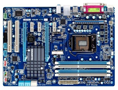 GigaByte GA-Z68AP-D3 Mainboard Sockel 1155 (ATX Intel Z68, 4X DDR3 Speicher, 2X USB 3.0) -