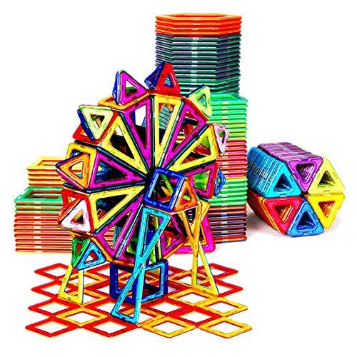Magnetische stück bausteine   magnetische Puzzle kinderspielzeug Magnet Magnet Stein Junge 3-6-10 Jahre alte Reine magnetische stück aufbewahrungsbox -