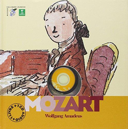 Wolfgang Amadeus Mozart (livre + 1 CD audio) par Yann Walcker
