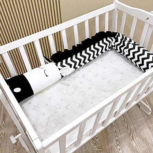 Baby Kinderbett Stoßstangen Schutz Kissen Babys Bett Bumper Home Dekoration