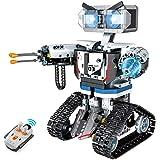 ZhanXiang Pilot zdalnego sterowania robot klockowy zestaw, duży robot budowlany STEM. Technologia maszynowa broń robot wojown