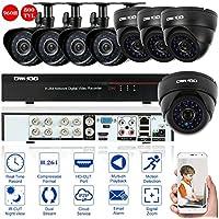OWSOO 8CH CCTV Sorveglianza DVR Sistema di Sicurezza HDMI P2P