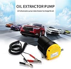 ONEVER Olio Extractor pompa olio motore diesel Pompa estrattore estrattore Fluid Transfer Oil 12V Diesel scavenging di aspirazione dell'automobile del carburante elettrica