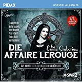 Die Affaire Lerouge / Das komplette 5-teilige Kriminalhörspiel nach dem Roman von Émile Gaboriau (Pidax Hörspiel-Klassiker)