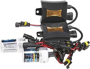 Generic 55W HID Xenon Conversion Headlight Fog Light Kit Bulb 9005 6000K 8000K With Ballasts High Brightness Low Power Consumption - 6000k