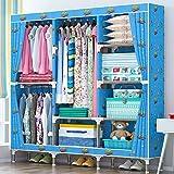 N&B Hängende Kleidung aufbewahrungsbox Langlebige Zubehör Regale - Umweltfreundliche Schrank Cubby,Pullover & Handtasche Organizer-B 168x129x46cm(66x51x18)