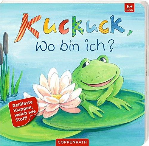 Kuckuck, wo bin ich?: Mit reiß- und speichelfesten Klappen (Co-klappe)