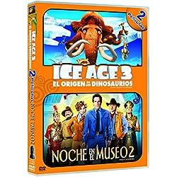Ice Age 3: El Origen De Los Dinosaurios + Noche En El Museo 2 [DVD]