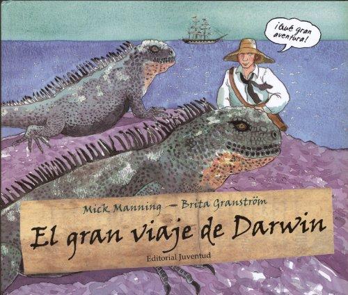 El gran viaje de Darwin (ALBUMES ILUSTRADOS)