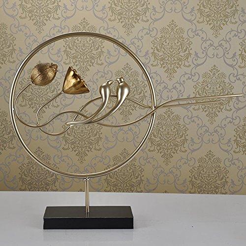 Su @ da hardware Costruire/Lotus/Uccelli Minimalista/Moderno/Sculture/ornamenti/mobili/Home/A 72* 11* 60cmb, 48* 11* 86.5cm, Gold, gold b models 48*11*86.5cm