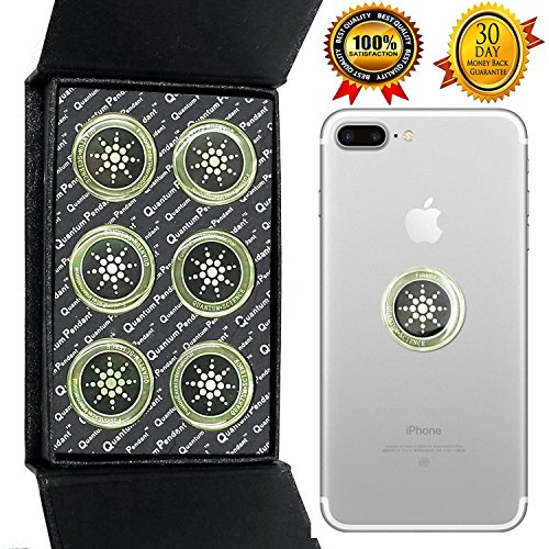 Anti Strahlung Protector Shield Aufkleber, EMR Schutz Blocker, EMF Neutralizer Patch Energy Saver skalare Ion für alle Handys, iPad iPod, MacBook, Computer, Laptop -
