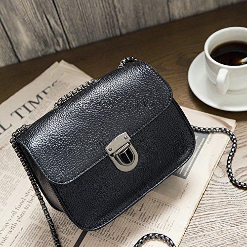Neue Mode, kleine Quadratische Tasche, Kette Tasche, einzelne Schulter und Cross-Span Frauen Tasche c