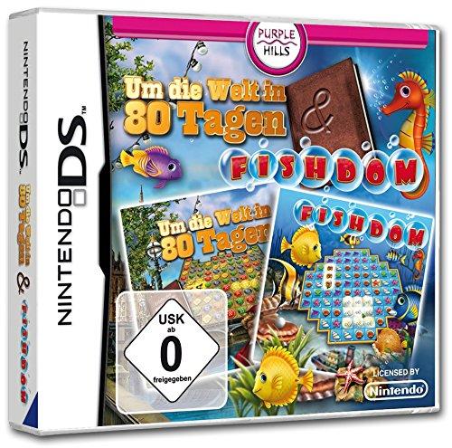 Um die Welt in 80 Tagen + Fishdom (DS) (S Ds-spiele)