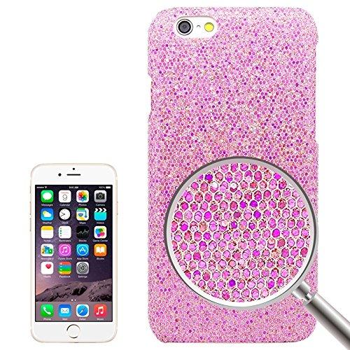 Coque Pour IPhone 6 et 6S, étui rigide en plastique à électrolyse en poudre scintillante ( Color : Blue ) Pink