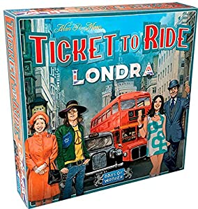 Asmodee Italia - Ticket to Ride London - Juego de Mesa íntegramente en Italia, Color 8514