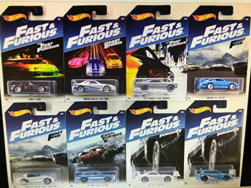 fast and furious modellautos Fast and Furious Set (8 Modellautos) 1:64 Hot Wheels DWF68