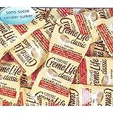 Vivil Creme Life Classic sans sucre Vrac 1 x 1kg Packung (Sahnige Karamell-Bonbons ohne Zuckerzusatz)