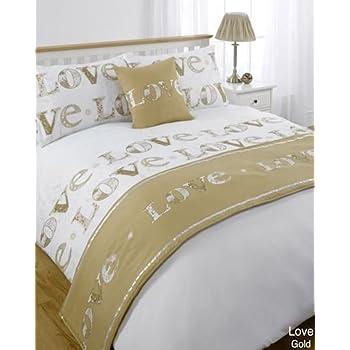 5pc Love Lovely Multi King Size Bed In A Bag Duvet Cover Bedding Set