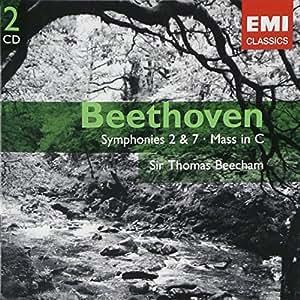 symphonie n°2, symphonie n°7, messe en ut majeur