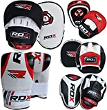 RDX Boxing Focus Punch Mitts MMA Training Punching Hook and Jab Strike Pads Traget With Bag Gloves