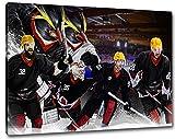 Bremerhaven Eishockey, Fan Artikel Leinwandbild,
