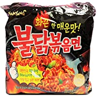 Samyang Hot Chicken Noodles, 140 gm - Pack of 5