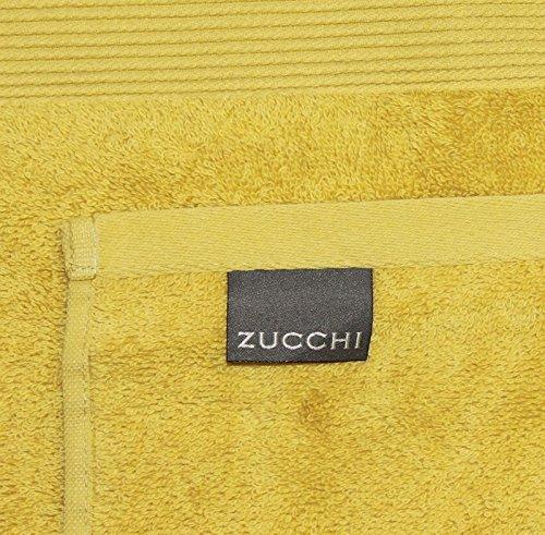Set 2 lavette zucchi solotuo in spugna di puro cotone 30x30 cm n161 lime