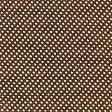 Fabulous Fabrics Satin Druck Punkte (1 mm) 2 – braun —
