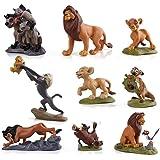 EASTVAPS Figura de Modelo de 9pcs King Lion Simba Nala Timon Juguete de PVC